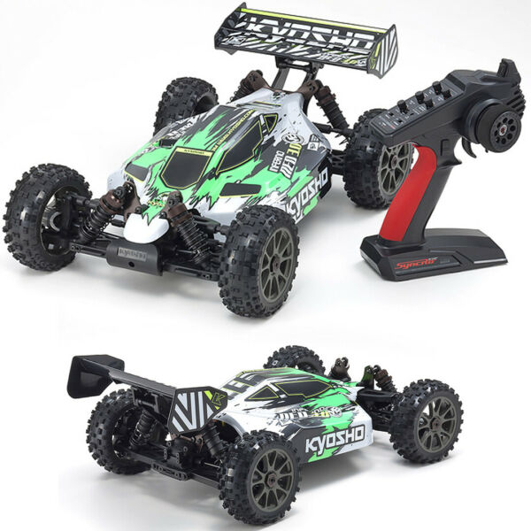 Kyosho 34108T1 18 INFERNO NEO3.0 VE T1 Brushless Off-Road 4WD RTR Buggy Green