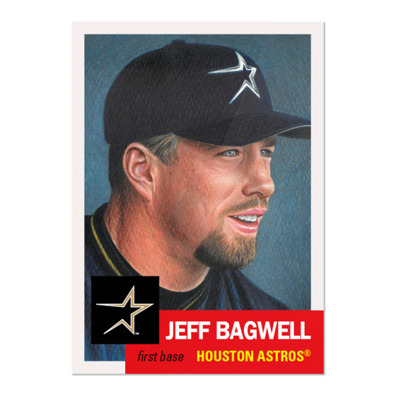 🔥 2020 TOPPS LIVING #279 JEFF BAGWELL HOUSTON ASTROS (PRE-SALE) HOF🔥