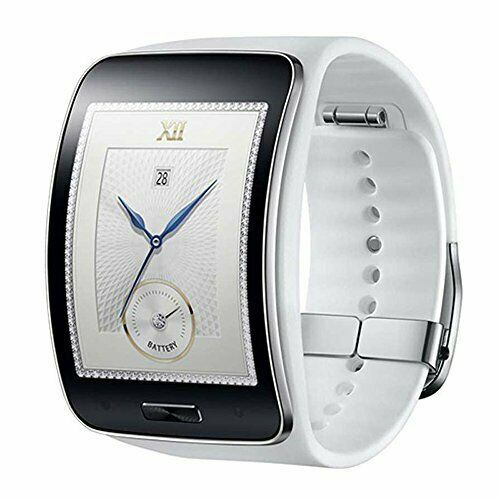 New Samsung Gear S Smartwatch SM R750 Curved Super AMOLED Smart Watch White