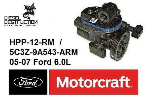 NEW OEM Motorcraft 6.0L Diesel High Pressure Oil Pump  HPOP 05-07