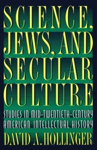 Science Jews and Secular Culture : Studies in...  (ExLib)