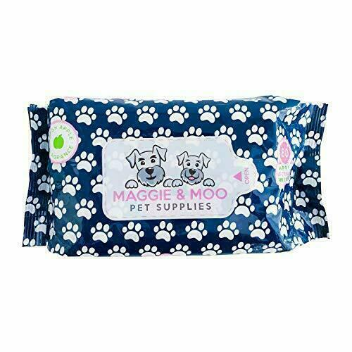 Apple Scented Dog Wipes with Aloe Vera for Cleaning Paws Eyes Butt Ears $10.80
