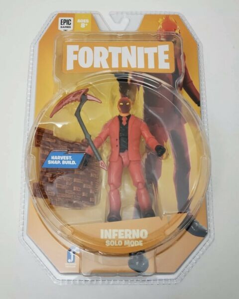 NEW Release Jazwares Fortnite Series 4 INFERNO Solo Mode Action Figure IN HAND