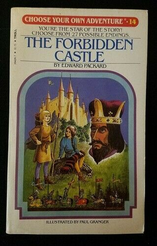The Forbidden Castle (Choose Your Own Adventure 14) by Edward Packard