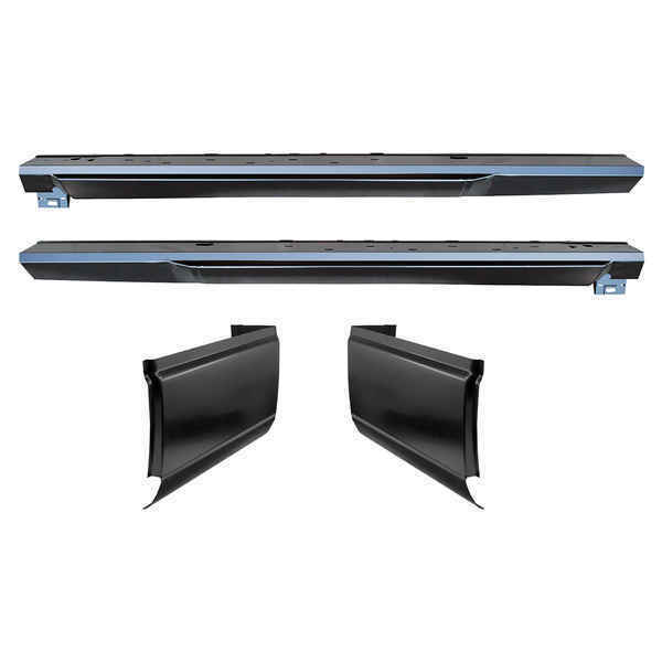 OE Style Rocker Panels & Cab Corners Kit for 93-11 Ford Ranger 2 Dr Extended Cab