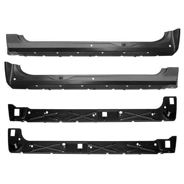 OE StyIe Inner & Outer Rocker Panel Kit for 07-13 Chevy Silverado GMC Sierra