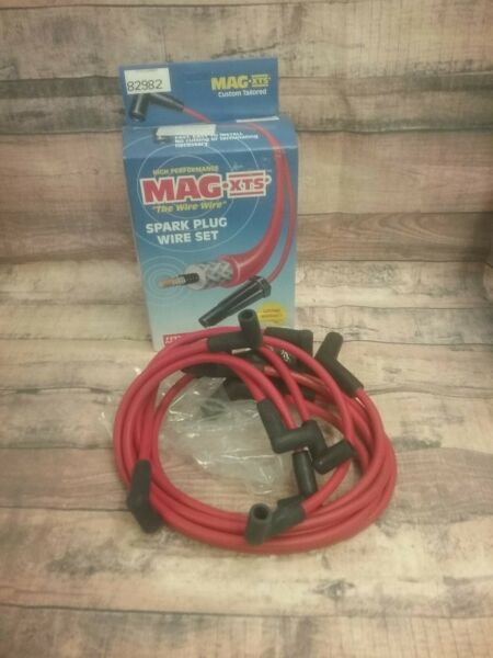 82982 Federal Parts Corp Mag XTS Red Spark Plug Wire Set