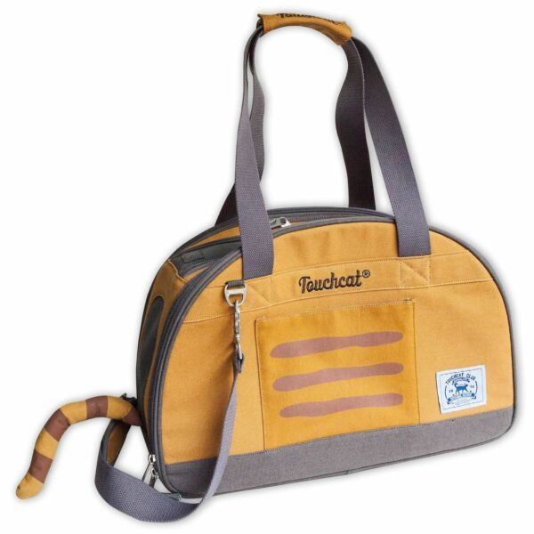 Touchcat #x27;Tote Tails#x27; Designer Airline Approved Collapsible Cat Carrier $42.49