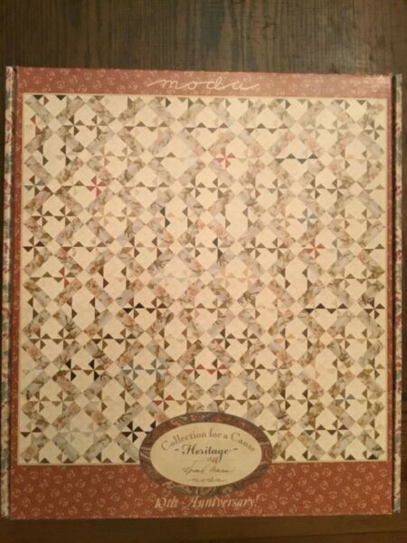 MODA Collections for a Cause Heritage Quilt Kit Stock #46000 FREE SHIPPING