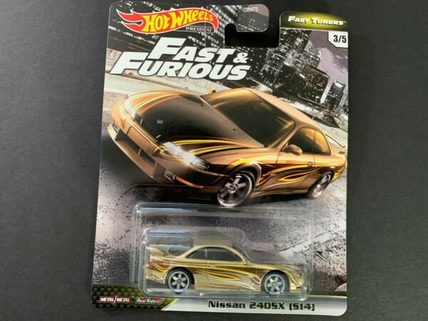 Hot Wheels Nissan 240SX S14 Fast and Furious GBW75-956F 164