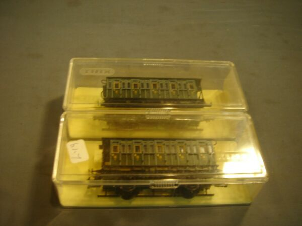 TRIX #'3716 Passenger Coach Lot
