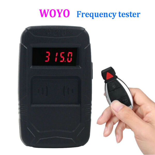 WOYO Remote Control Tester Tools Car IR Infrared Auto car key Frequency Tester