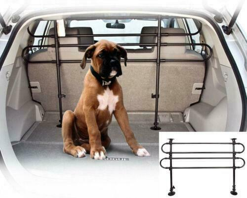 Universal Vehicle Car SUV Auto Pet Dog Barrier Fence Cage Safety Gate Black $20.95