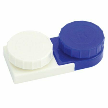 Apex Deluxe Contact Lens Cases 2 Each Contact Container Travel Holder $7.91