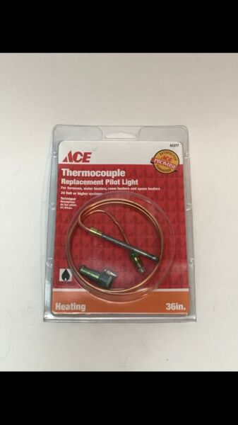 ACE Thermocouple Replacement Pilot Light Gas Heating 36quot; Furnace Heater $7.99