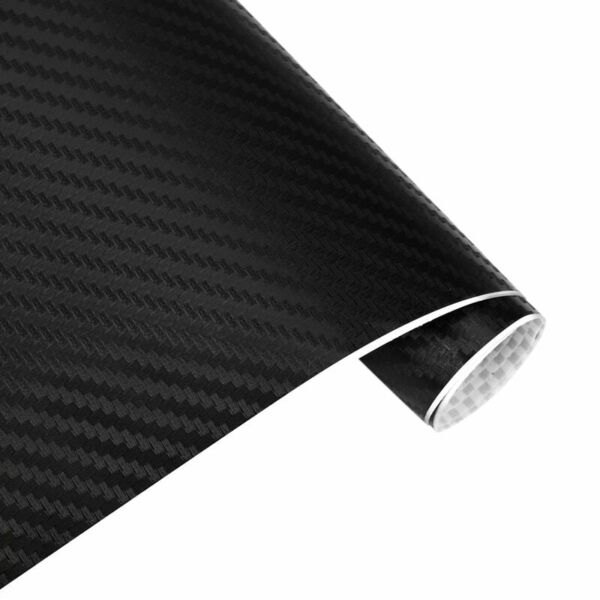 Carbon Vinyl Sticker 3D Car Decal Film Styling Accessory Tuning Racing Interior $5.49