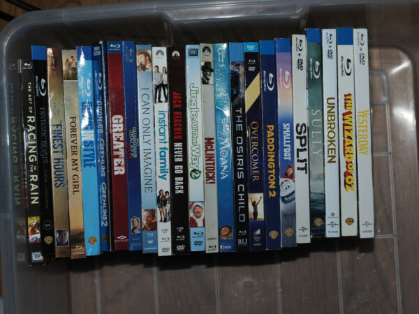 Blu Ray Slipcovers Only NO Movies or Boxes or Digital Copies $3.00