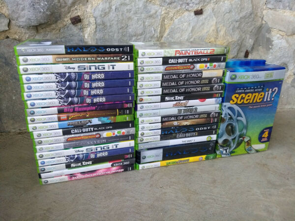 XBOX 360 Video Games Selection