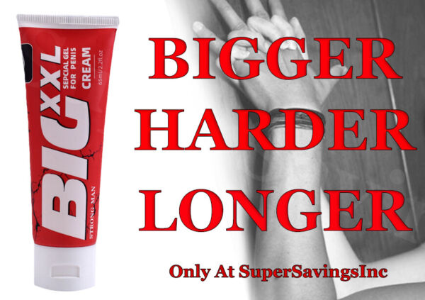 Natural Penis Enlarger Cream Big Thick Dick Growth Faster Enhancement Male XXL $14.98