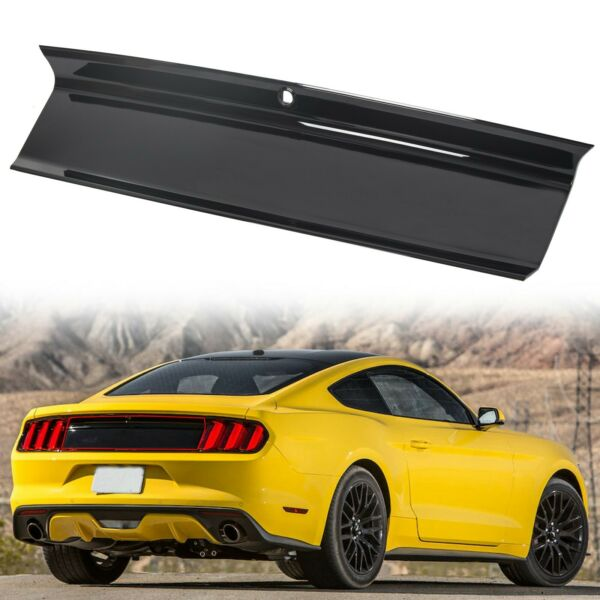 Gloss Black For 2015 2020 Ford Mustang GT Rear Trunk Decklid Panel Trim Cover $68.00
