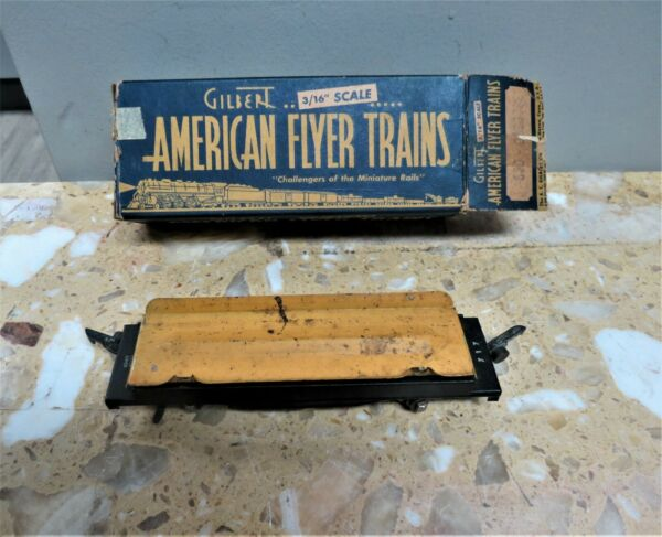 Gilbert American Flyer 717 Automatic Log Dumping Flat Car Used $18.99