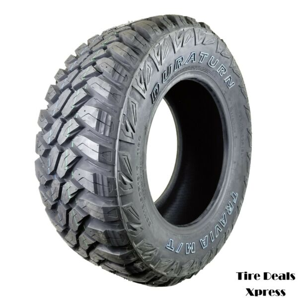 4 Four New 33X12.50R18 Duraturn Travia M T E OWL 3312518 R18 Tire PN:2318