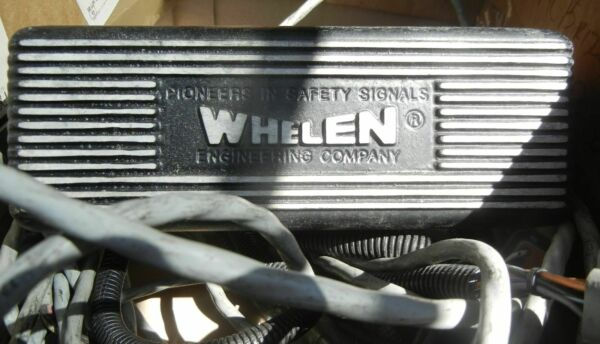 Whelen WPPSC692 Motorcycle Strobe Power Supply Lightbar Harley With Cables