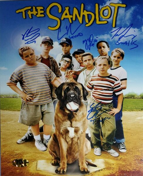 The Sandlot Cast X5 Authentic Signed 8x10 Photo w MAB COA
