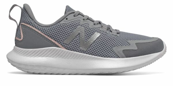 New Balance NB Ryval Run Womens Shoes Grey with Grey & Orange