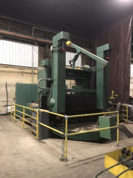 """Morando MDL KN-26 98"""" CNC Vertical Boring Mill With Turn Table"""