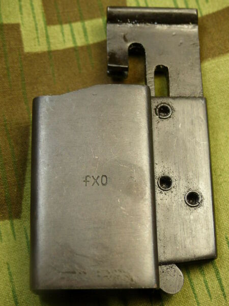 German WWII Small Arms Loading Tool Mag Loader 9mm 38 40