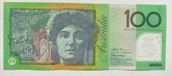Australian $100 Dollar Polymer Bank Note - Third Series - UNC