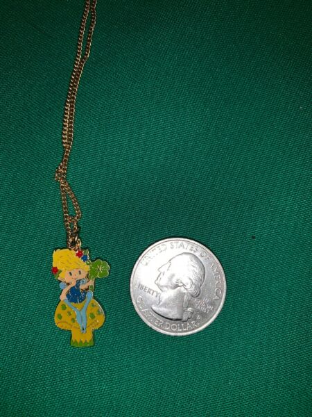 Herself The Elf Charm Pendant Necklace 1980's Toy Doll 80's