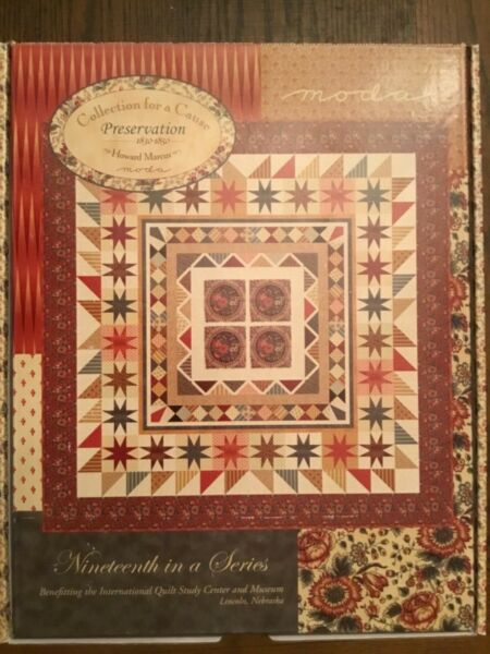 MODA Collections for a Cause Preservation Quilt Kit Stock #46230 FREE SHIPPING