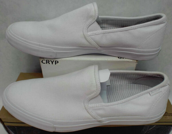 New Mens 13 Converse JP Jack Purcell OX Slip On White Boat Shoes $70 148635C