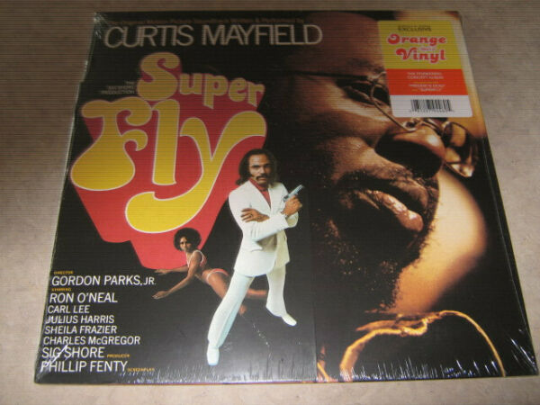 CURTIS MAYFIELD-Super Fly Soundtrack LP NEW! Barnes & Noble Exclusive Orange Wax