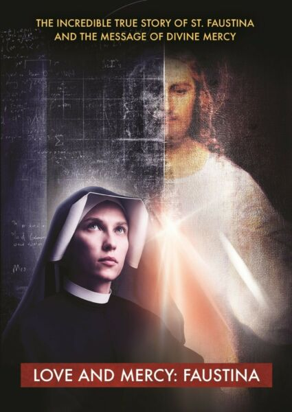DVD Love and Mercy: Faustina Divine Mercy $19.99
