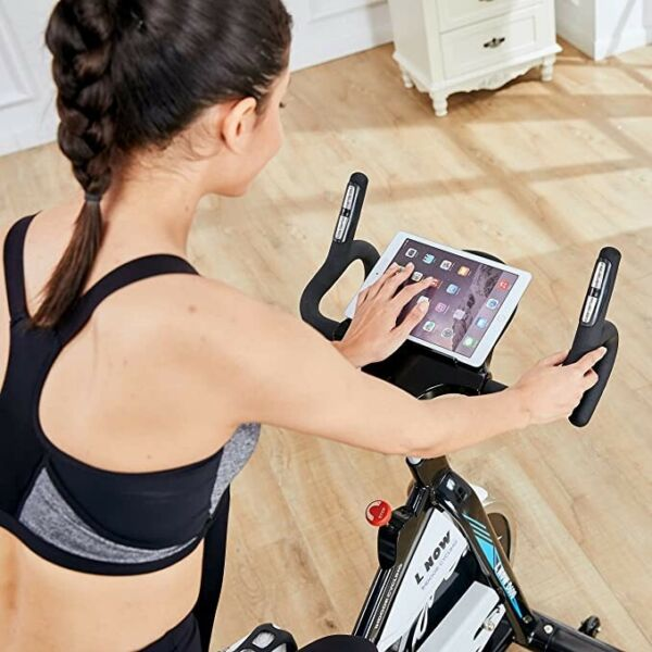 L NOW Indoor Exercise Bike Indoor Cycling Stationary Bike Belt Drive with Heart $535.00
