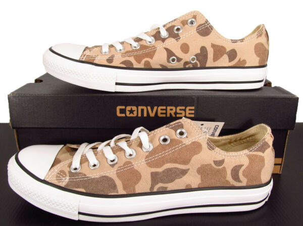 Converse Chuck Taylor All Star Ox Lo Top Sneaker Safari Sand Desert Camo