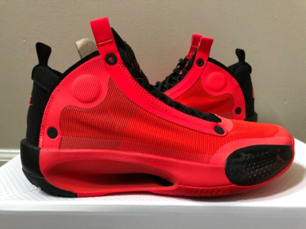 Air Jordan XXXIV 34 Infrared 23 Black Size 8-14 LIMITED 100% Authentic $199.99