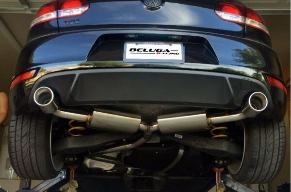 Beluga Racing VW 10 14 GOLF GTI MK6 MKVI 2.0T Light Weight Catback Exhaust