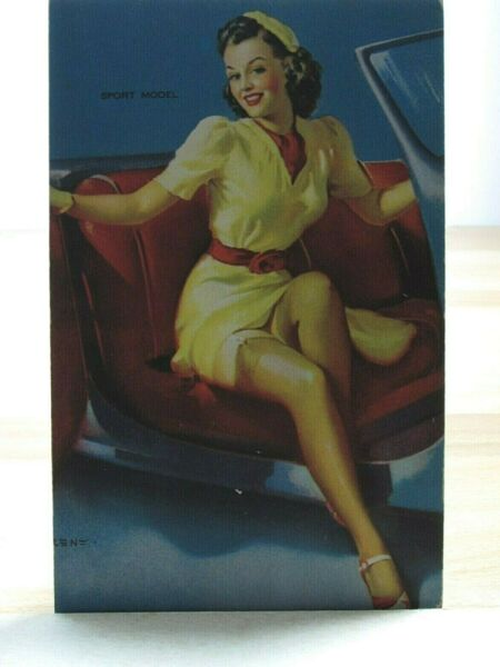 1940s Mutoscope Yankee Doodle Girls Pinup Arcade Multiple Picture Sport Model