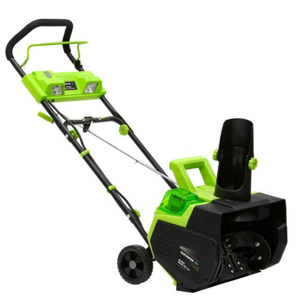 Earthwise 22 in. 40-Volt Cordless Electric Snow Thrower with 4.0 Ah Battery