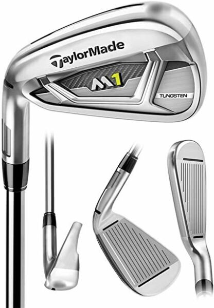 LEFT HANDED TaylorMade 2017 M1 #7-PW Iron SetChoose Shaft & Flex From Drop Down