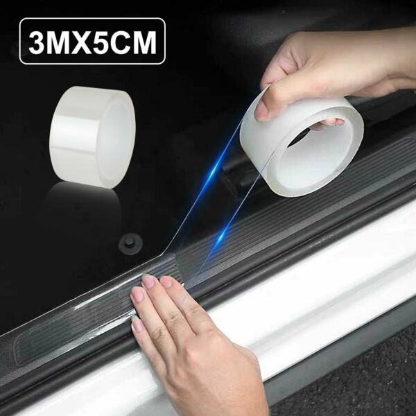 3M Protector Sill Scuff Car Auto Door Plate Anti Sticker Scratch Bumper Strip $8.48