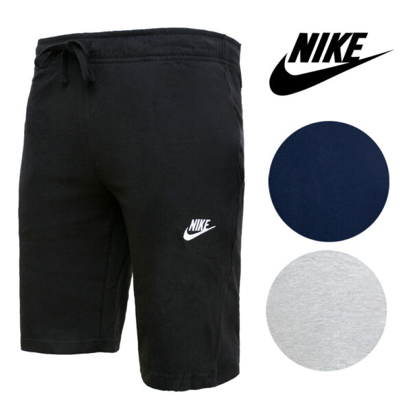 Nike Men's Sport Shorts Cotton Standard Fit with Pockets and Drawstring $23.48