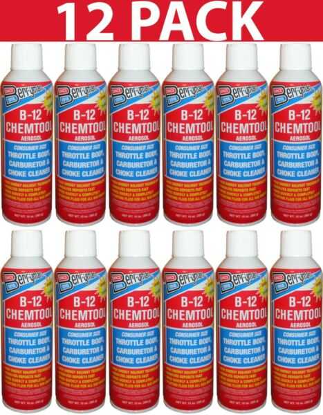 12 Pack Berryman 113 Carburetor and Choke Cleaner 13 oz. New Free Shipping USA $43.99