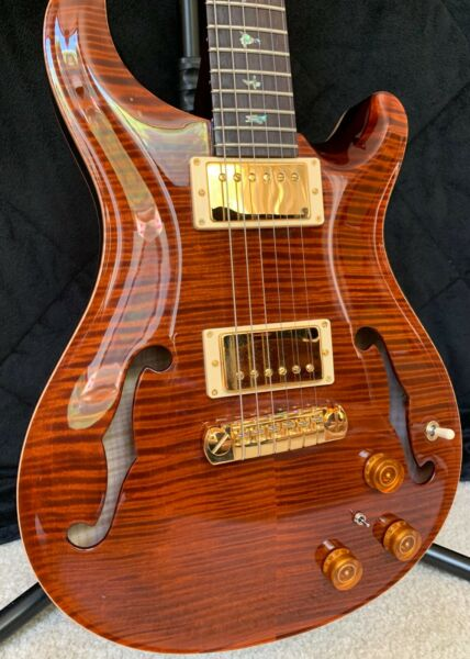 USED PRS Paul Reed Smith Hollowbody II Piezo ARTIST Package - Tortoise
