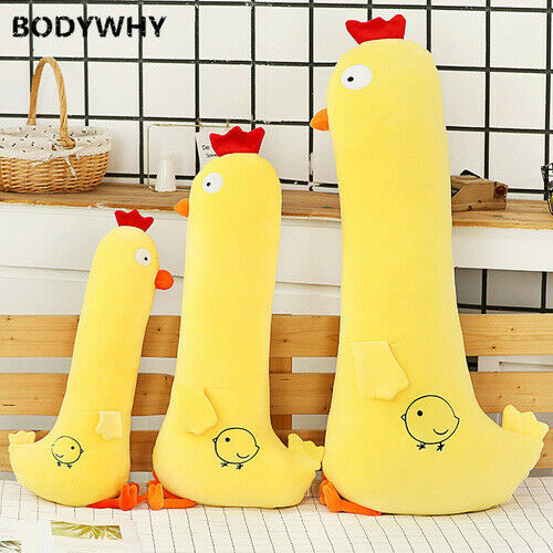 2020 Chick Pillow Doll Bed Long Ragdoll Sleeping Child Cute Girl Plush Toy Hot $48.65
