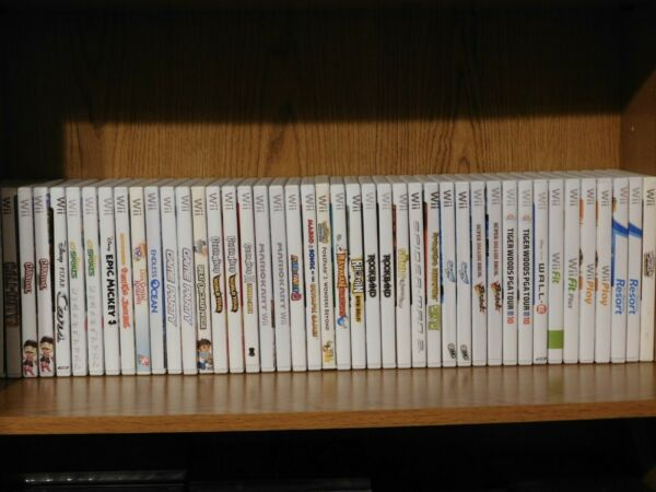 Wii Pick and Choose Lot Cleaned and Tested OEM Many CIB $17.49